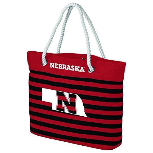 FOCO Nebraska Nautical Stripe - Bolso de mano