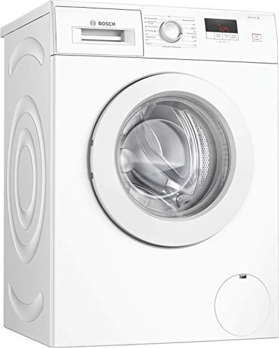 Bosch WAJ28020 Serie 2 Waschmaschine Frontlader / A+++ / 157 kWh/Jahr / 1400 UpM / 7 kg / weiß / Nachlegefunktion / EcoSilence Drive