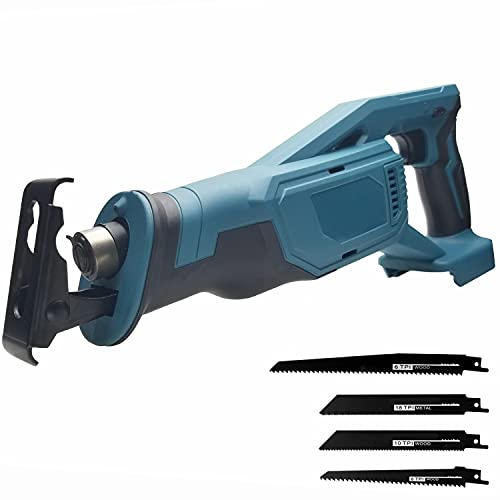 Qjin 18V Max Reciprocating Saw Cordless Power Reciprocating Saw (Tool Only - No Charger and Battery)