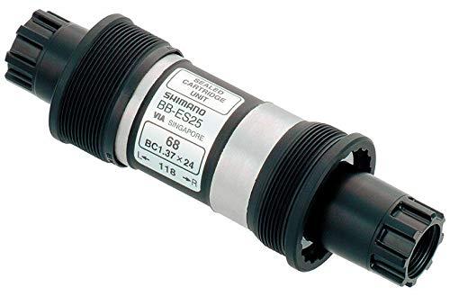 JKSPORTS OEMSHIMANO BB-ES25 OCTALINK Bottom Bracket 68x113/118/126mm (68118MM)