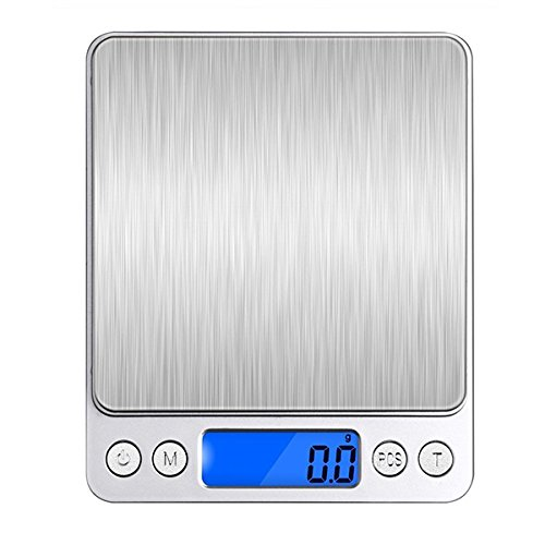 honana hn-ms12000G 0,1G Mini Digital Bolsillo Escala de cocina electrónica joyas apoyo de conversión para G de múltiples unidades, GN, oz, Ozt, Dwt, CT, satisfacer sus diferentes necesidad. 🔥