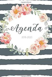Agenda 2019 - 2020: Agenda Giornaliera Agosto 2019 a Dicembre 2020 - Pianifica i tuoi appuntamenti quotidiani   Agenda Set...