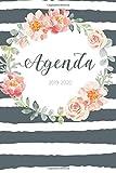 Agenda 2019 - 2020: Agenda Giornaliera Agosto 2019 a Dicembre 2020 - Pianifica i tuoi appuntamenti quotidiani | Agenda Settimanale 2019 - 2020 | Journalier, Agende, Office e Calendario 2019/2020