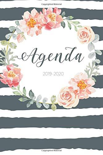 Agenda 2019 - 2020: Agenda Giornaliera Agosto 2019 a Dicembre 2020 - Pianifica i tuoi appuntamenti quotidiani | Agenda Settimanale 2019 - 2020 | Journalier, Agende, Office e Calendario 2019 2020