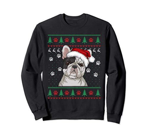 French Bulldog Christmas Ugly Sweater Funny Dog Lover Sweatshirt