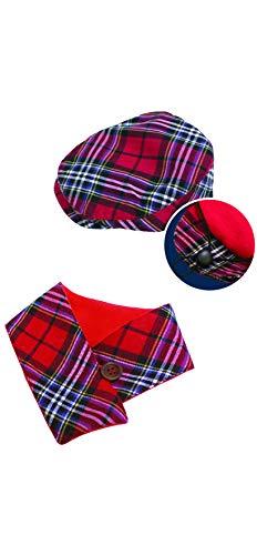 Croci C7274489 sjaal en hoed voor honden, maat S