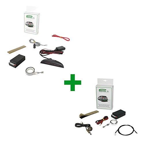 Elektromagnetischer Parksensor vorne + hinten mit Funkanzeige OHNE langweiligen Stoßstange!