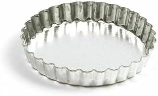 Norpro 3715 Tin Quiche/Tart Pan, 4.75-Inch, Silver