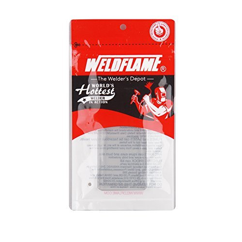"WELDFLAME 2"" x 4.25""Clear Magnifying Welding Lens 3.00"