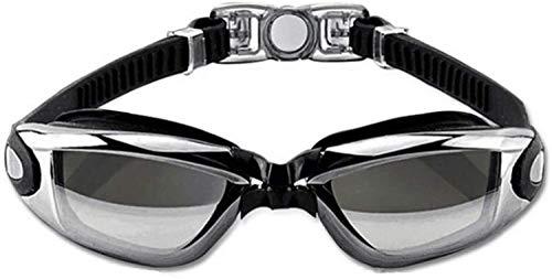 Plztou Gafas de natación nadar Máscara de visión amplio de una pieza Gafas de natación de Super prueba de fugas Diseño UV Protección anti-niebla recubrimiento for Hombres Mujeres Jóvenes Niños Niño fo