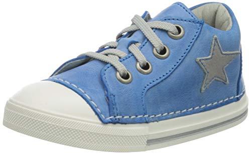 Däumling Baby Jungen Esther Sneaker, Blau (Fortuna Lagoon 44), 23 EU