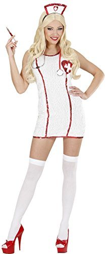 Dames Verpleegkundige Kostuum Medium UK 10-12 voor ER GP Hospital Fancy Jurk