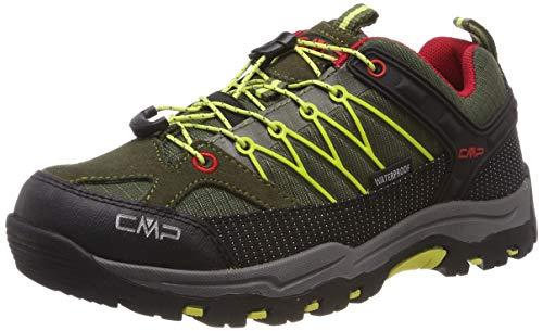 CMP Rigel, Zapatos de Low Rise Senderismo Unisex Adulto, Verde...