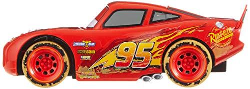 Dickie Toys 203084015 - Cars RC Beach Lightning Mcqueen, ferngesteuertes Spielzeugauto, 1:24