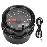 Tacómetro del coche, indicador de la modificación del coche del tacómetro del velocímetro del LED de los colores 52mm/2in 7