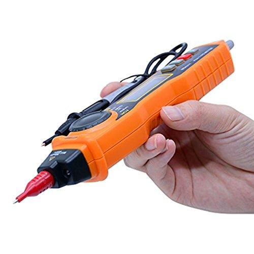 hangang tipo de lápiz multímetro a Sonda Digital con Detector NCV Sin Contacto CA CC Corriente Coche y manual de datos de carga Tenere amperímetro Voltaje Tester multímetro