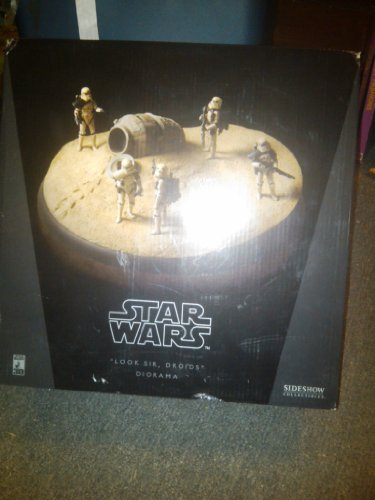 """Sideshow Star Wars """"Look Sir, Droids"""" Diorama, Limited to 1,250   image"""