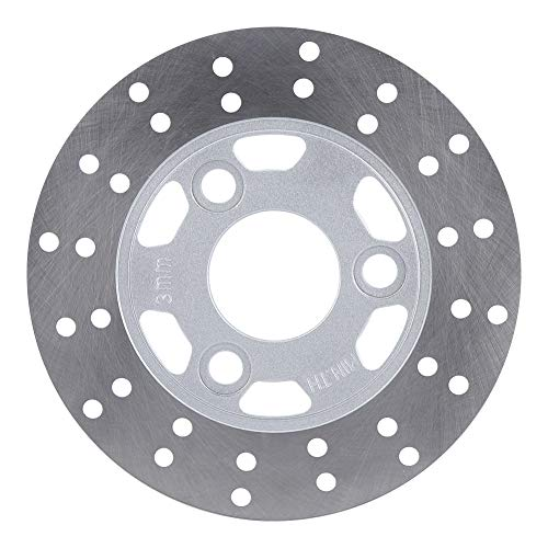 Brake Rotor Disc,Motorcycle 3 BOLT PATTERN 155MM Disc Brake Rotor Fits for GY6 Scooter Moped Z50 Z50A Z50J DR11