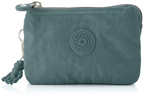 Kipling Creativity S, Cartera para Mujer, Verde (Light Aloe), 14.5x9.5x5 cm