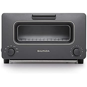 "BALMUDA Steam toaster oven""BALMUDA The Toaster"" K01E-KG (Black)【Japan Domestic genuine products】 [並行輸入品]"