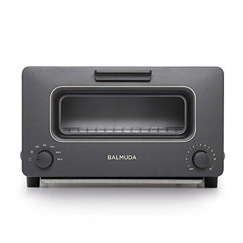"BALMUDA Steam toaster oven""BALMUDA The Toaster"" K01E-KG (Black)【Japan Domestic genuine products】 [並行輸入品]"