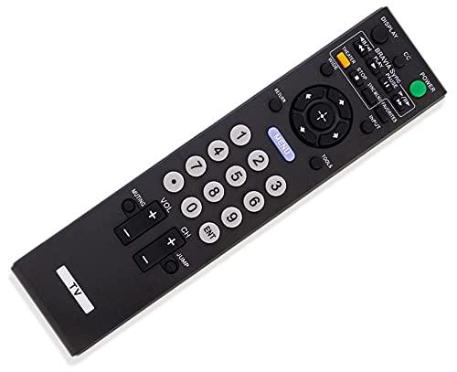 SccKcc Mando a distancia compatible con Sony LCD TV KDL-46VL150 KDL-46VE5 KDL-52S5100 KDL32L5000 KDL46S5100 KDL32XBR9 KDL52V5100 KDL46V5100 KDL52S5100
