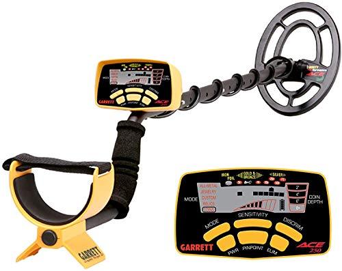 Garrett Ace 250 - Detector de metales (incluye protector de