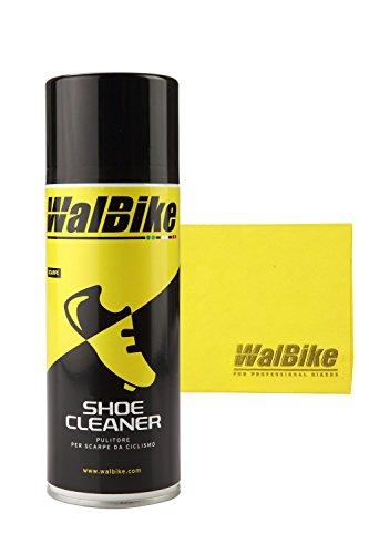 WalBike Kit Shoe Cleaner pulitore per detergere Pulire Le Scarpe da Ciclismo con Panno in Microfibra