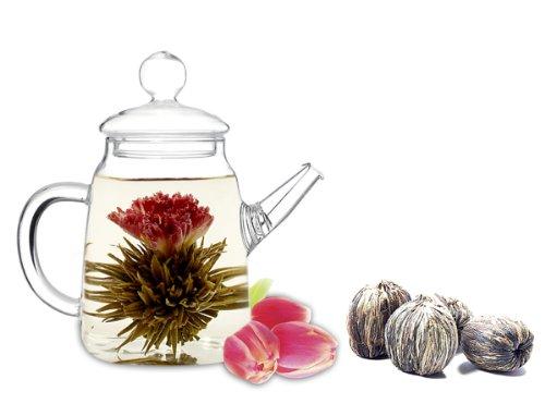 Tea Beyond Fab Flowering Teapot Duo Set