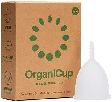 OrganiCup Menstrual Cup Size B. for Those Who Have Given Birth Vaginally. Award Winning Period Cup. Allergy Certified