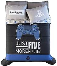 DreamPartyWorld Playstation - Juego de edredón reversible para adolescentes y niños (3 unidades, tamaño Queen)
