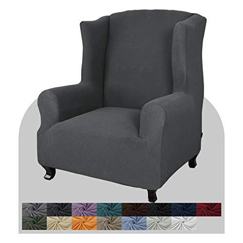 JIVINER Super Stretch Sofa Slipcover Wingback Chair