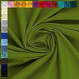 Jersey Vanessa von Swafing, uni khaki (50cm x 160cm)