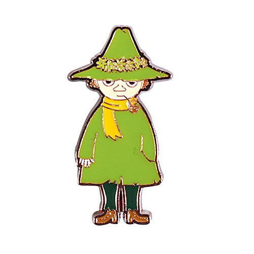Echter Moomins Snufkin Character Pin Badge Eine andere Richtung