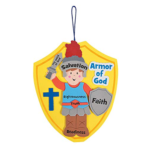 Armor of God Craft Kit (Makes 12) - Crafts for Kids and Fun Home Activities