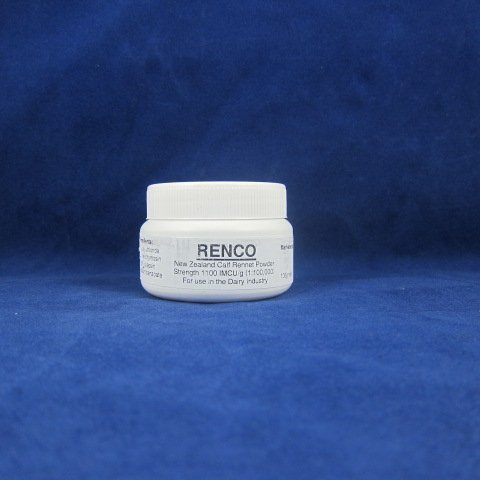 Renco Powdered Veal Rennet-100 Grams