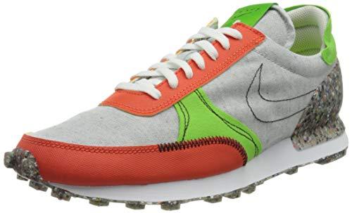 Nike DBREAK-Type, Scarpe da Corsa Uomo, Photon Dust/Photon Dust-Team Orange-Mean Green-Sail-Black, 42.5 EU