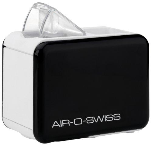 Air-O-Swiss U7146- Humidificador Ultrasonico de viaje, color negro