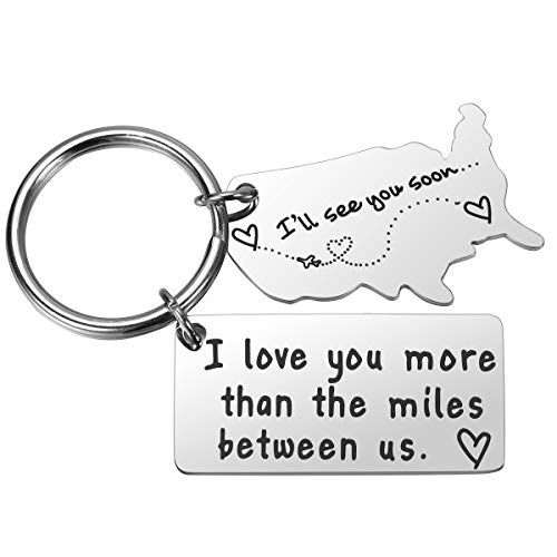 I Love You More Than The Miles Between Us Long Distance, 1 Pack, Size No Size