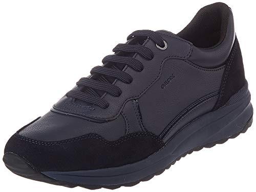 Geox D AIRELL A, Zapatillas Mujer, Azul Marino, 38 EU