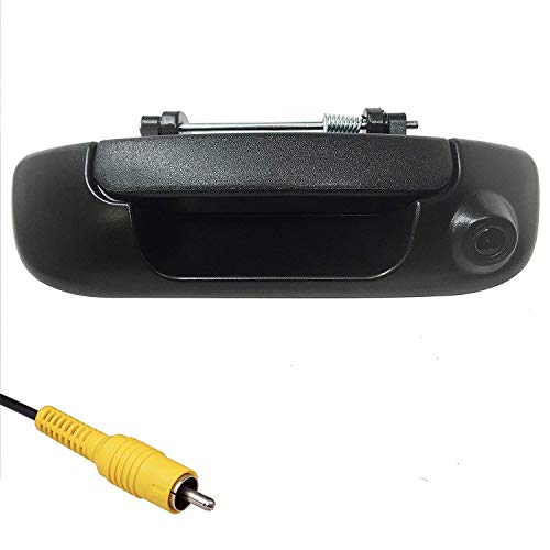 Master Tailgaters Replacement for Dodge Ram 2002-2008 Black Tailgate Handle with Backup Camera backup Cameras Vehicle