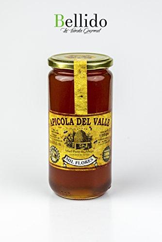 Miel 100 % natural pura de abeja cosecha propia artesanal Apicola del Valle, diferentes sabores muy intensos. Envío GRATIS 24 h. (Mil Flores, 1 Kg)