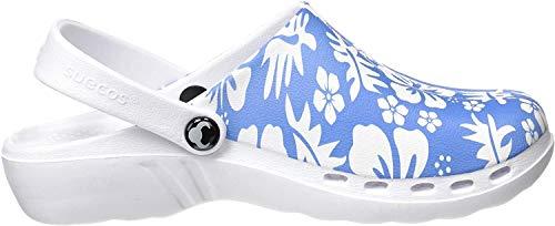 Suecos® Oden Midsummer - Zueco con diseño ergonómico y utraligero, (Multicolor 17), 37 EU