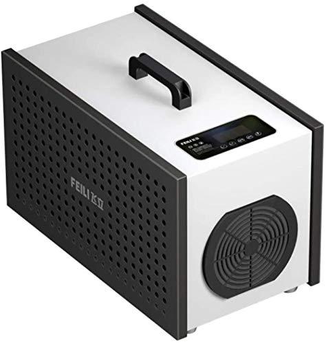 WINNNGOO O3 Luftreiniger,10g Intelligente Desinfektionsmaschine mit Fernbedienung,FüR Zimmer, Rauch, Haustiere Und Autos Haushaltsluftreinigung