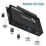 Surfacekit Surface Go Adaptateur, 2 X USB 3.0, Vitesse de Transfert jusqu'à 5...