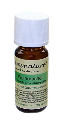 emynature® - Ätherisches Öl ind. Weihrauch 100% naturrein (Boswellia serrata) Inhalt 10 ml Weihrauchöl