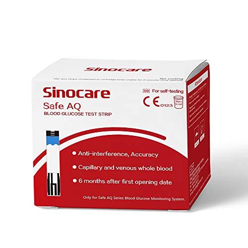 50 tiras reactivas para medidor de glucosa en sangre Safe AQ Smart / Safe AQ Voice