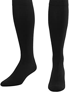 Made in The USA - XL Compression Socks 20-30 mmHg for Men,  Closed Toe - 1 Pair Mens Black Support Socks - Use for Travel,  Poor Circulation & Edema - Absolute Support,  A104BL4