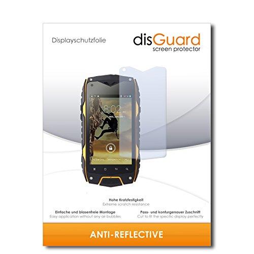 disGuard® Bildschirmschutzfolie [Anti-Reflex] kompatibel mit Bestore Z6 [3 Stück] Entspiegelnd, Matt, Antireflektierend, Extrem Kratzfest, Anti-Fingerabdruck - Panzerglas Folie, Schutzfolie