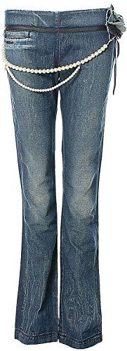 Killah Jeans Hose Super Slim Röhre Perlen W28 L34 Blue